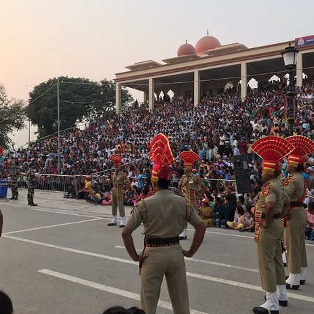 One should visit the Attari border once in lifetime as the place is full of patriotism and people from different parts of India come to enjoy the daily flag hosting ceremony