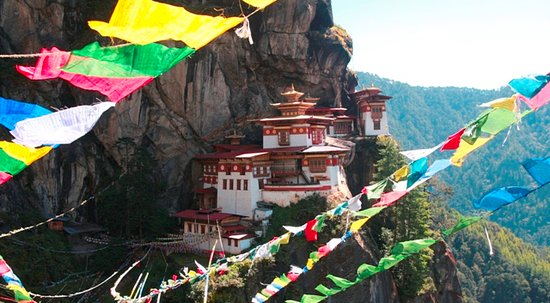 Bhutan Creative Tours: wonders of Bhutan popularly known as tigers nest in paro (western Bhutan)