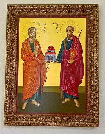 Chiesa di San Mauro: icona - San Pietro e Paolo