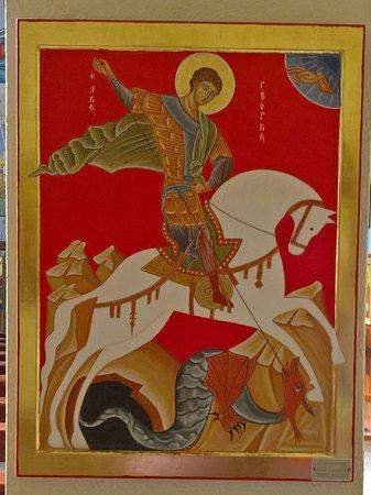 Chiesa di San Mauro: icona - San Giorgio