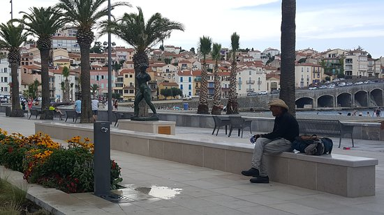 Баньюль-сюр-Мер, Франция: the center of Banyuls-sur-mer