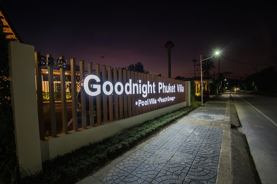 Goodnight Phuket Villa: Logo