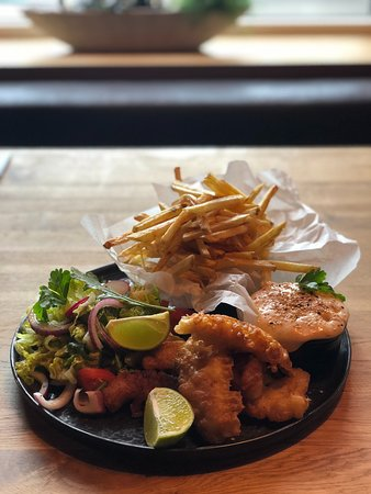 Lunch special Fish and chips