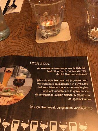 LUNA Eten & Drinken Stein: High Beer