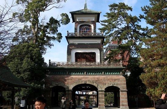Kanazawa, Japonsko: 楼門建築の傑作だ