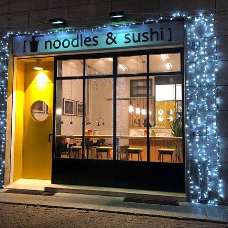 Noodles & Sushi @ Strada Maestri: Noodles & Sushi