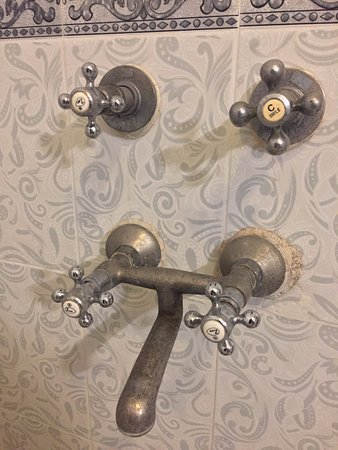 Rusted bathroom fittings!