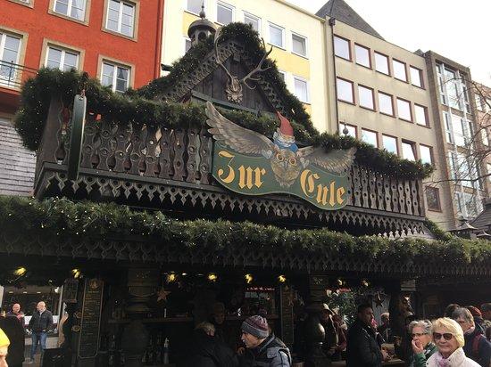 The Cologne Christmas Market: A Grog stall.