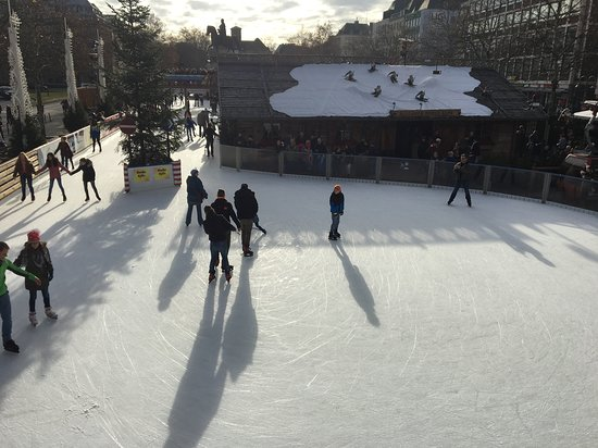 The Old Town ice rink.
