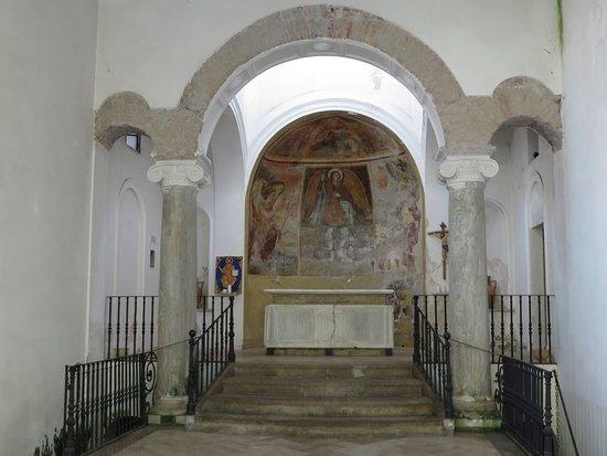 Chiesa di San Salvatore a Corte : l'interno di San Michele