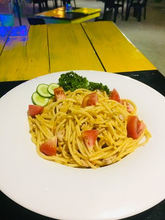 Seashore Restaurant: Spaghetti