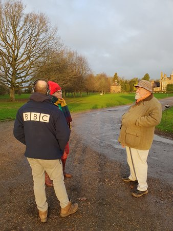 Reporting from Kentwell Hall