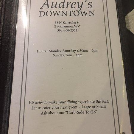 Audrey's Downtown Restaurant Foto