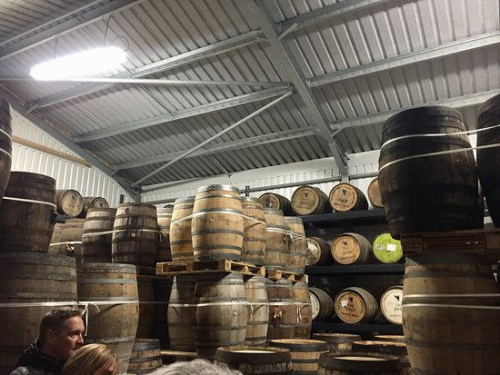 Cotswolds Distillery: Bonded warehouse