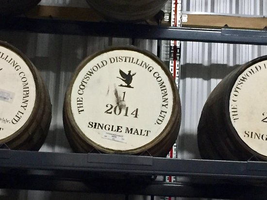 Cotswolds Distillery: Barrel No. 1, the very first.
