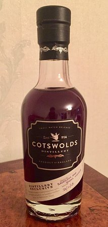 Cotswolds Distillery: Blackberry and thyme gin