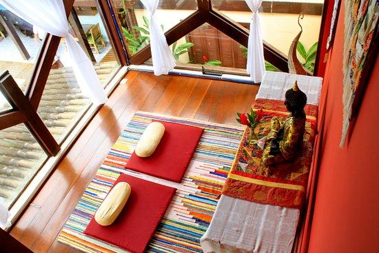Pousada Pura Vida: Sala de meditação