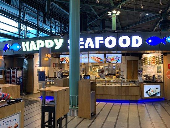 Overview Happy Seafood locatie