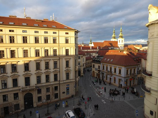 Barcelo Brno Palace: Blick aus dem Zimmer 418