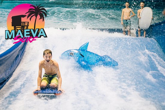 Maeva Surf | Indoor surfing