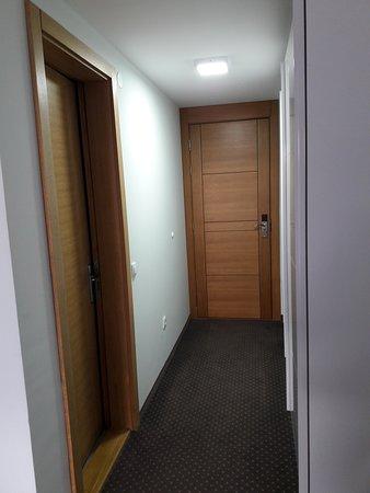 Room entrance.