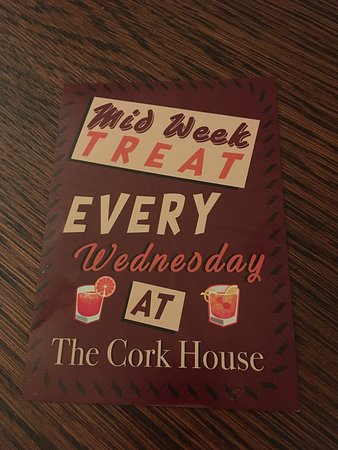 The Cork House Bar Bistro: la presentazione