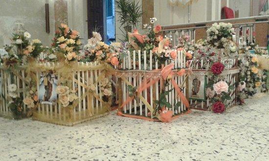 CINTE VOTIVE in onore di San Rocco, Chiesa di San Rocco da Montpellier, Grisolia, Calabria