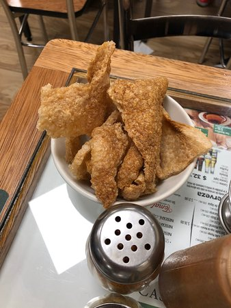 fried pork skin