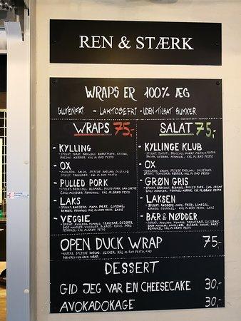 Ren & Stærk i Arkaden Food Market