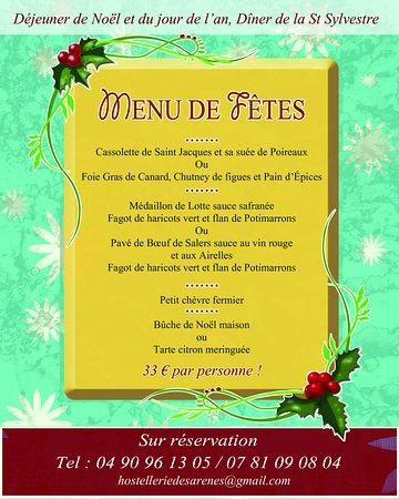 Menu De Noel Lotte.Telline Picture Of Hostellerie Des Arenes Arles Tripadvisor