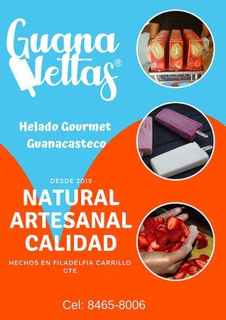 Guanalettas Helados Artesanales: Somos Guanalettas  las paletas bien guanacastecas