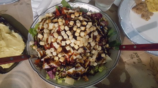 Pheidia's salad