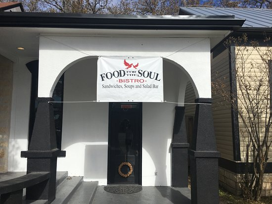 Entrance to Food for the Soul Bistro