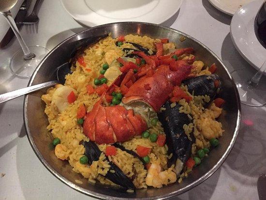 Don Pepe Restaurant: Paella Marinara