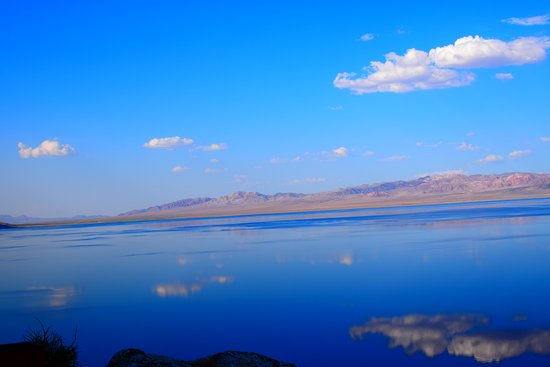 The Walker Lake resides between the towns of Hawthorne, NV, and Schurz, Nv; home of the Walker River Paiute Tribe. It is a freshwater lake that encompasses 32.7 miles open for fishing and hunting. Fishing permits are sold at the Four Seasons Smoke Shop located at  4057 US Highway 95 S Schurz, NV 89427.