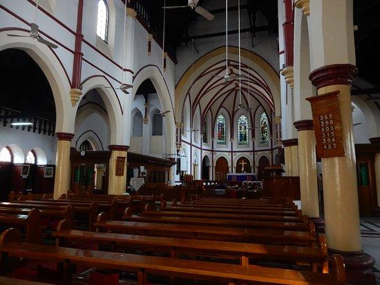 Holy Trinity Cathedral: Fans Aloft