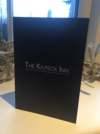 Kilpeck, UK: The arrival of the bill.