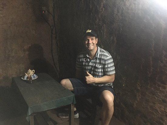 Cu Chi Tunnels & Mekong Delta Full-Day VIP Tour from Ho Chi Minh city: in the General's bunker.