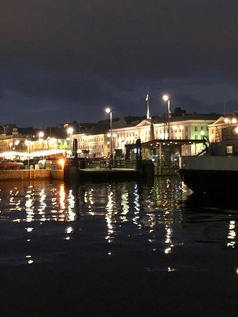 Evening at Helsinki Harbor