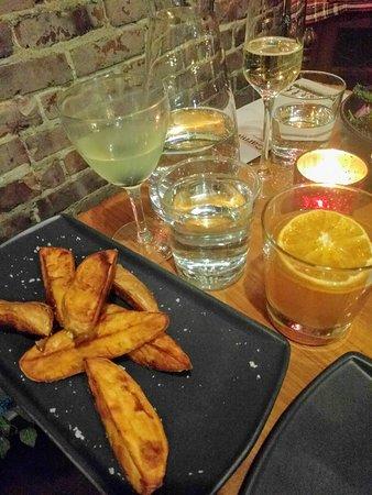 Carnivore: Sweet potatoes & sea salt. Perfect!