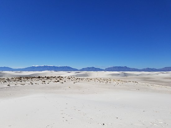 Dunes with Mtn background