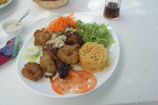 Chez Coco: Poulet grillé