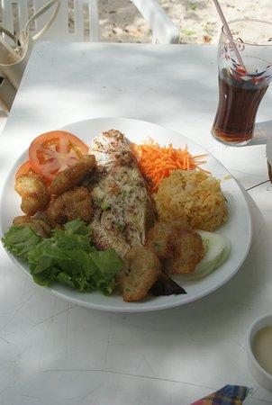 Chez Coco: poisson grillé