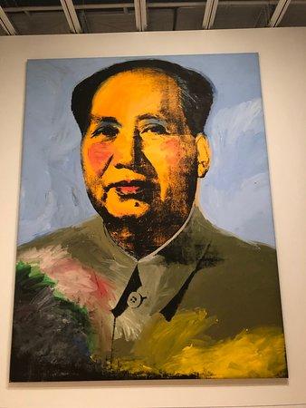 Whitney Museum of American Art Admission Ticket: Warhol's massive Mao portrait.