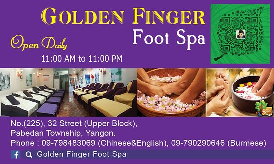 Golden Finger Foot Spa