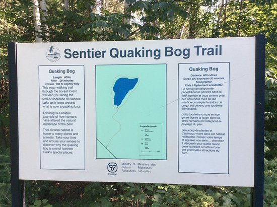 Foleyet, Canada: Info for Quaking Bog Trail