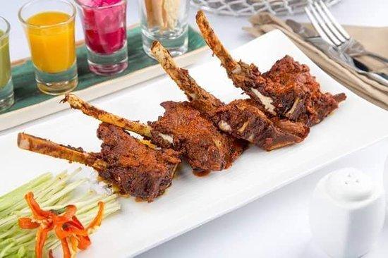 Lamb Barra Kebab