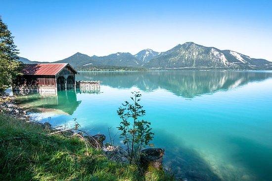 Bayerske fjell fra Salzburg