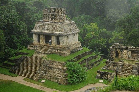 Rovine maya di Palenque, cascate di