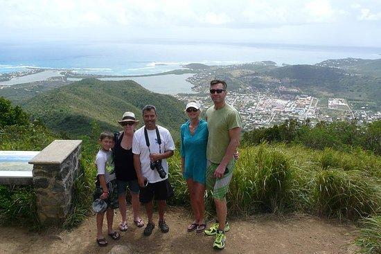 St Maarten Hiking and Snorkel Tour